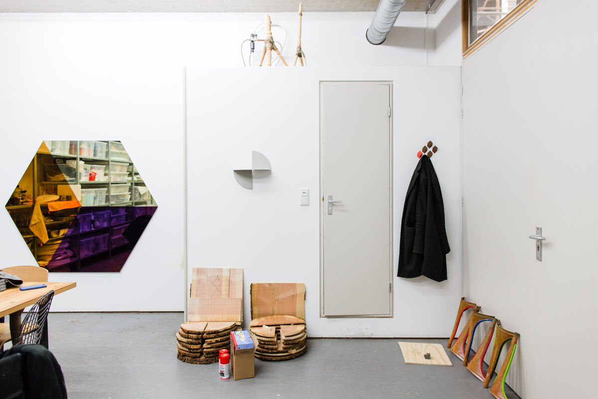 Lex Pott's Amsterdam studio. Photo by Jordi Huisman for Artsy.