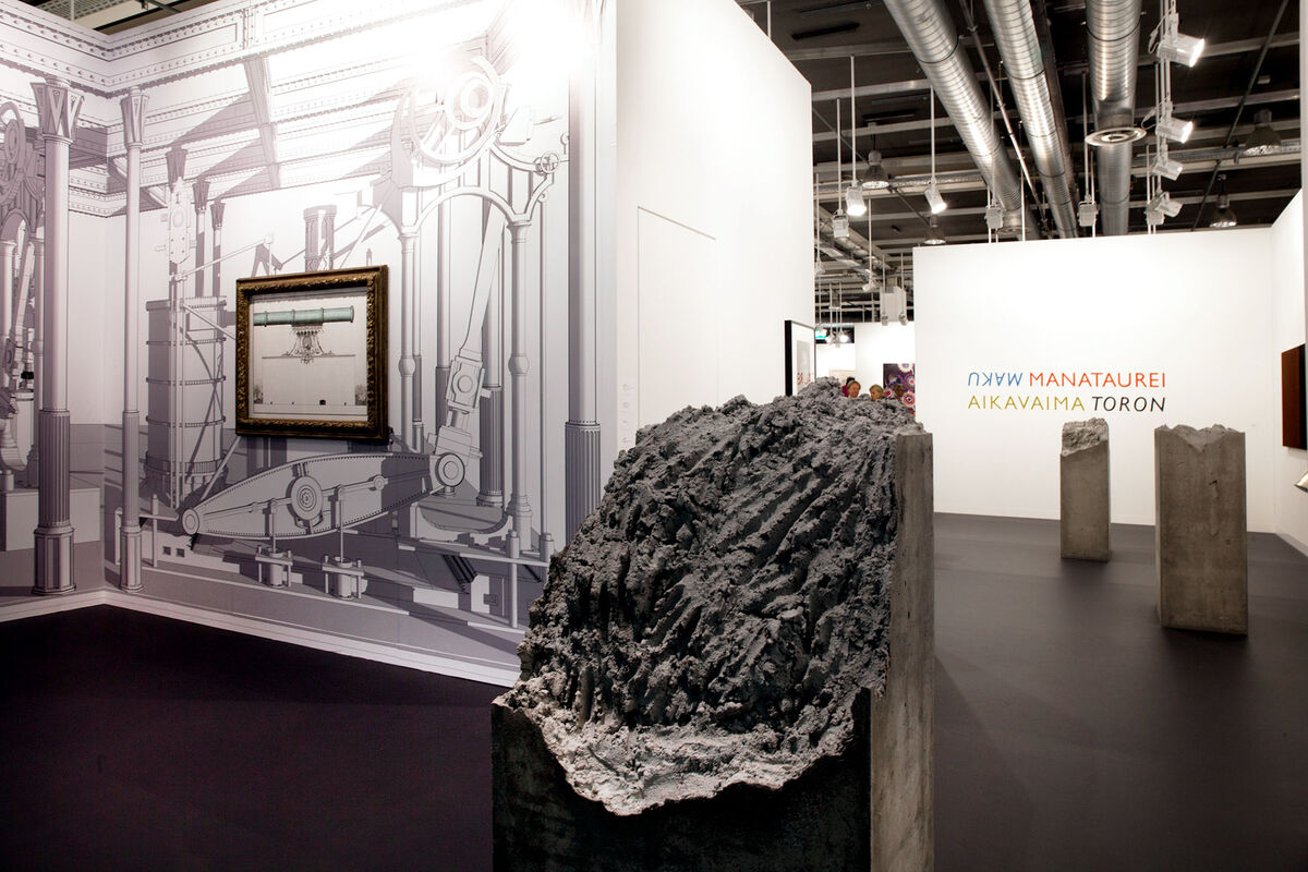 Franco Noero at Art Basel 2015. Photo by Alec Bastian for Artsy.
