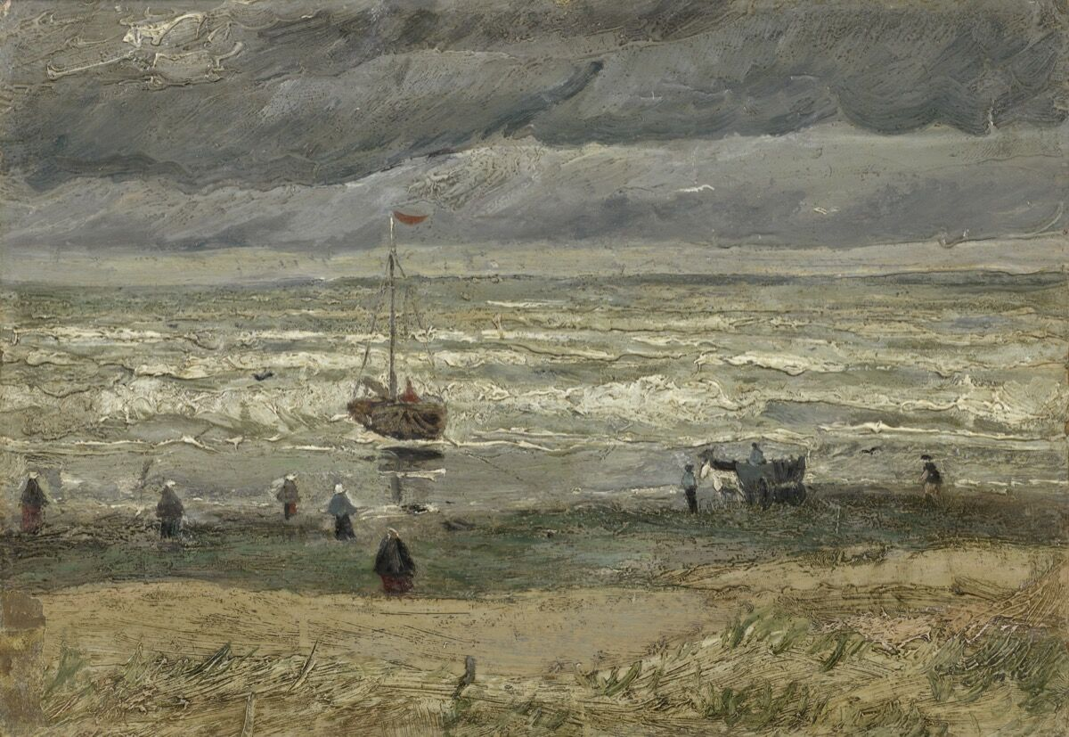 Vincent van Gogh, View of the Sea at Scheveningen, 1882. Courtesy of the Van Gogh Museum.