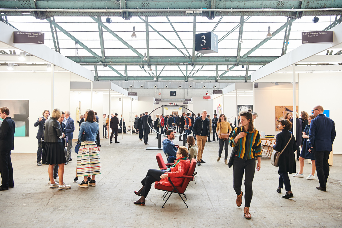 Art Brussels, 2016. Photo by David Plas. Courtesy of the fair.