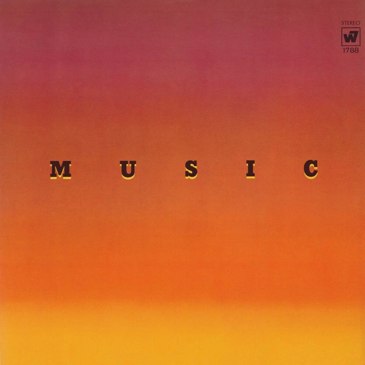 Ed Ruscha's cover for Music by Mason Williams, 1969. Courtesy of TASCHEN.
