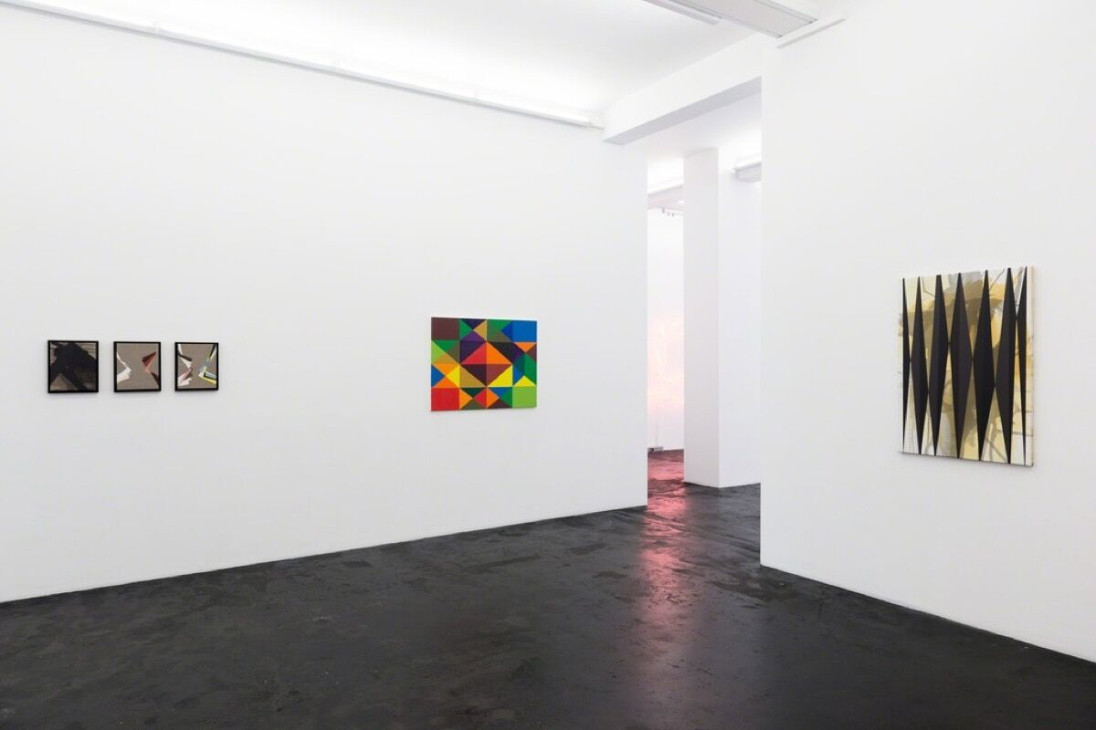 "Installation view of ""To Sophie, Sonia, Elsa, Hannah..."" at Häusler Contemporary. Photo courtesy of the gallery."