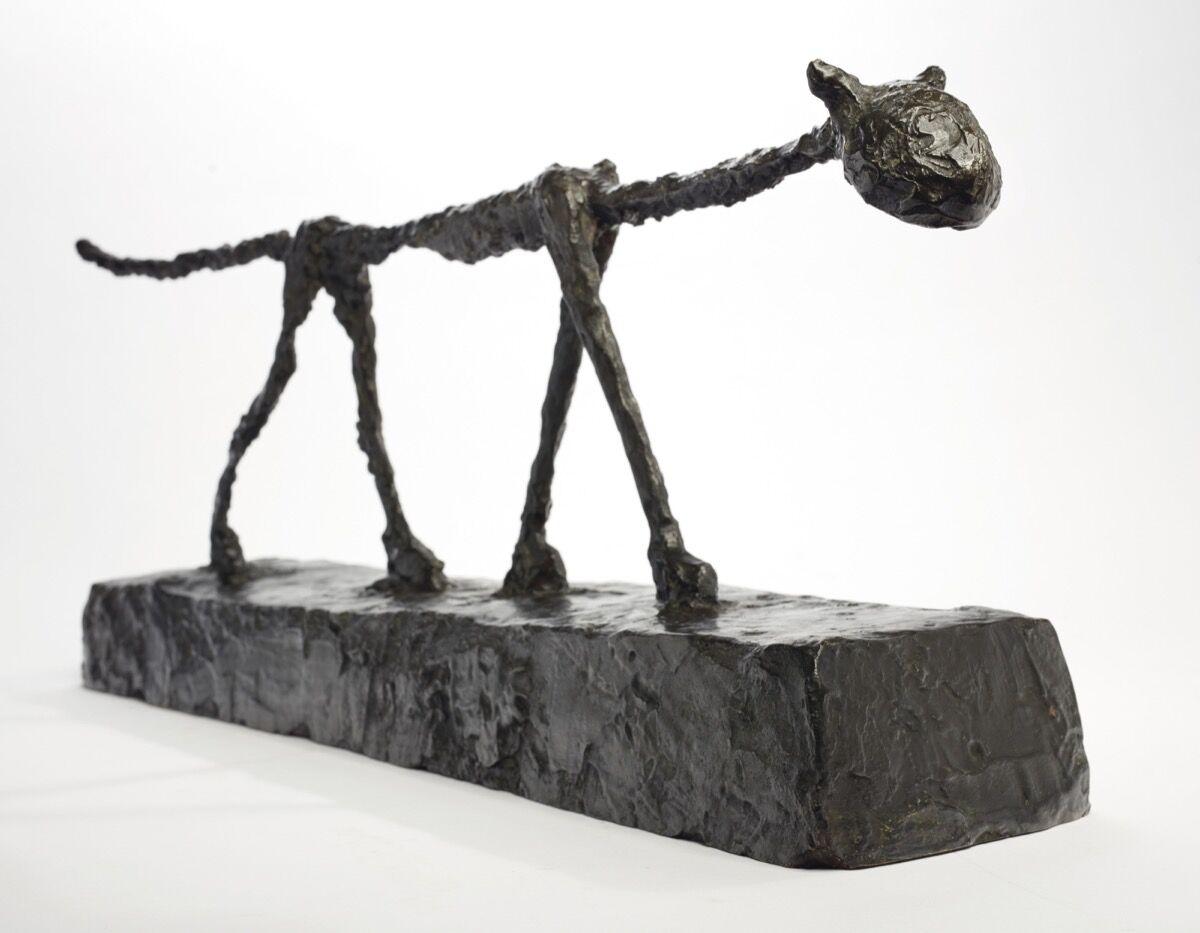 Alberto Giacometti, Le Chat, 1951 (1955). Courtesy of Christie's.
