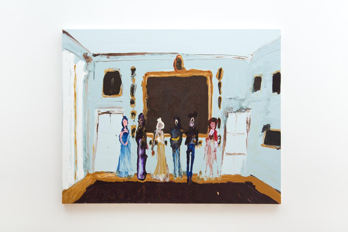 Genieve Figgis, Royal Group, 2015, Photograph by Melissa Castro Duarte. Courtesy Almine Rech Gallery and the artist.