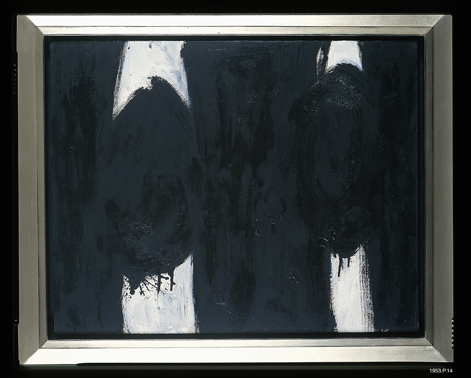 A Robert Motherwell forgery. Image courtesy of the Dedalus Foundation.