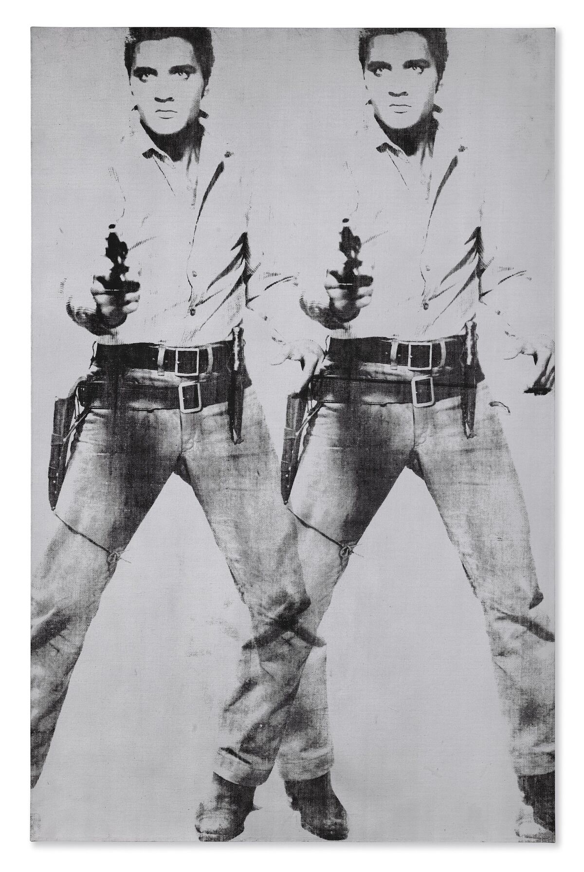 Andy Warhol, Double Elvis [Ferus Type], 1963. Courtesy of Christie's Images Ltd.