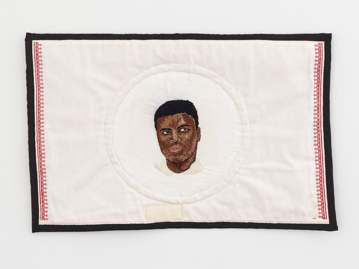 Elsa Hansen Oldham, Facing Ali, TK. Courtesy of the artist and Simon Dickinson Gallery.