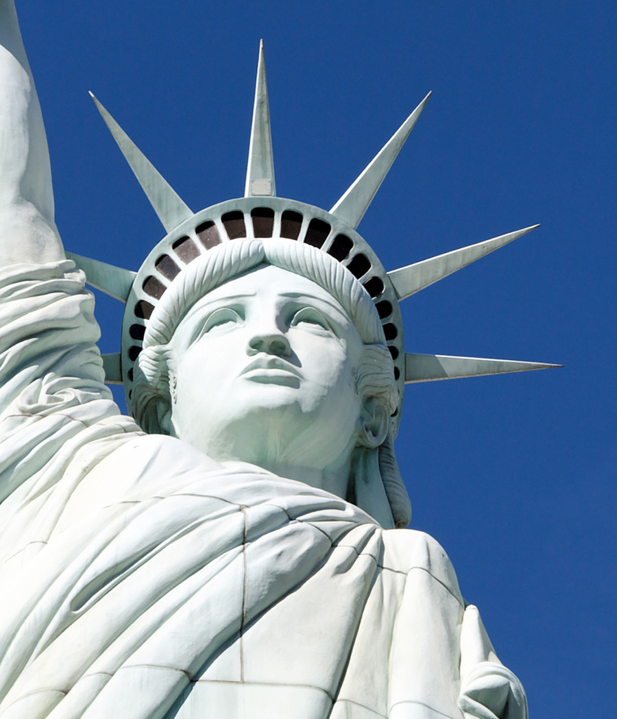 Statue of Liberty, New York, Las Vegas. Photo by ADTeasdale, via Flickr.