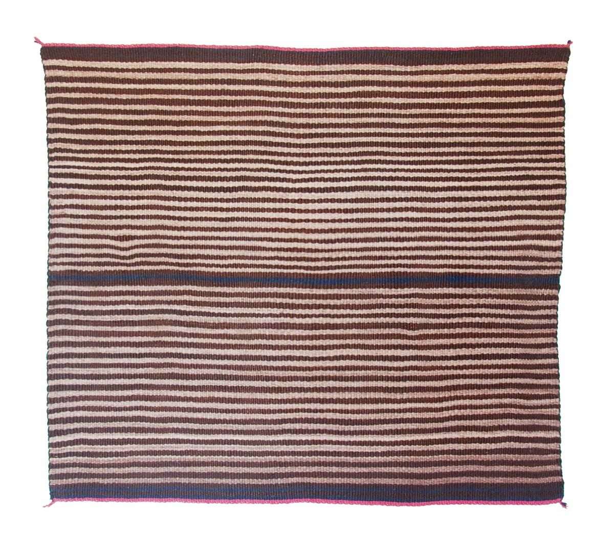 Navajo people, A Classic First Phase Chief's Blanket, Woman's Style, Navajo, c. 1860. © 2017 Joshua Baer & Company, a New Mexico Corporation. Courtesy of
