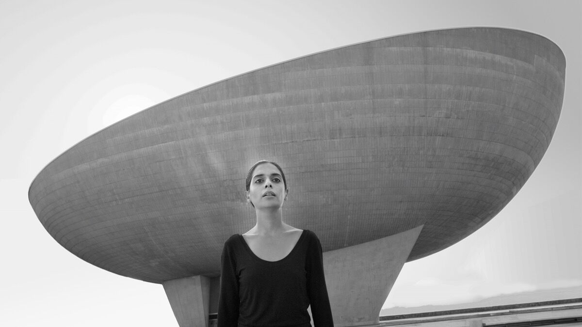 Shirin Neshat, Video Still of Roja, 2016. Copyright Shirin Neshat. Courtesy the artist and Gladstone Gallery, New York and Brussels.