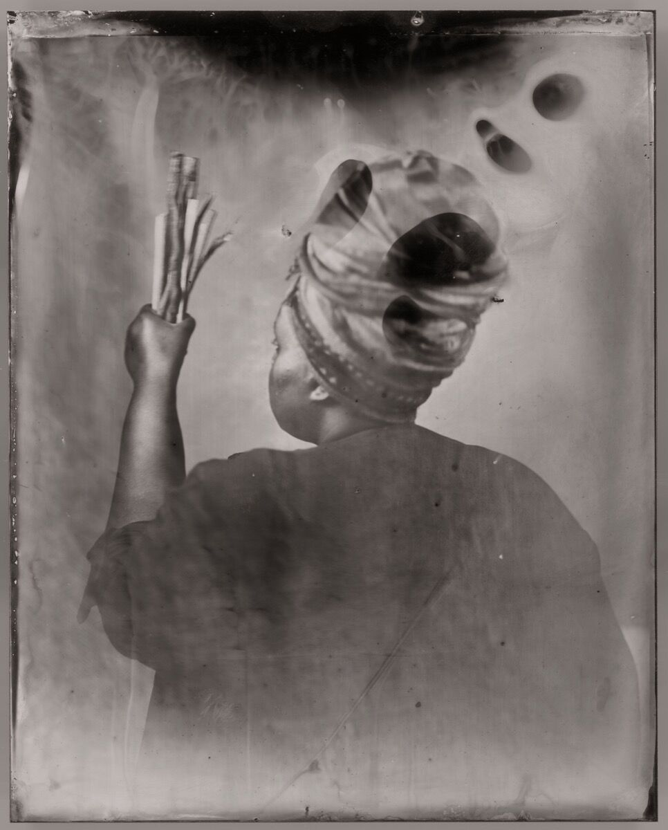 Khadija Saye Sothiou, 2017. Courtesy of Jealous gallery, The Studio of Nicola Green, and Tate Britain.