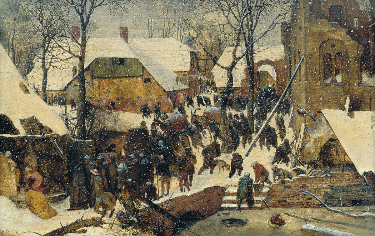 Pieter Bruegel the Elder, The Adoration of the Magi in the Snow, 1563. Image via Wikimedia Commons.