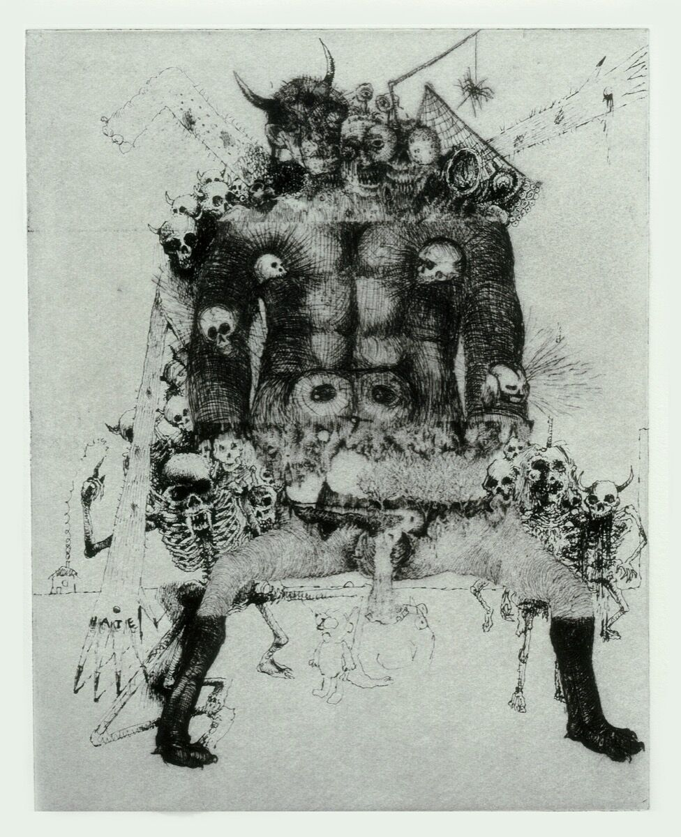 Jake and Dinos Chapman, Exquisite Corpse (Rotring Club) IV, 2000. © Jake and Dinos Chapman. Courtesy of the artists.