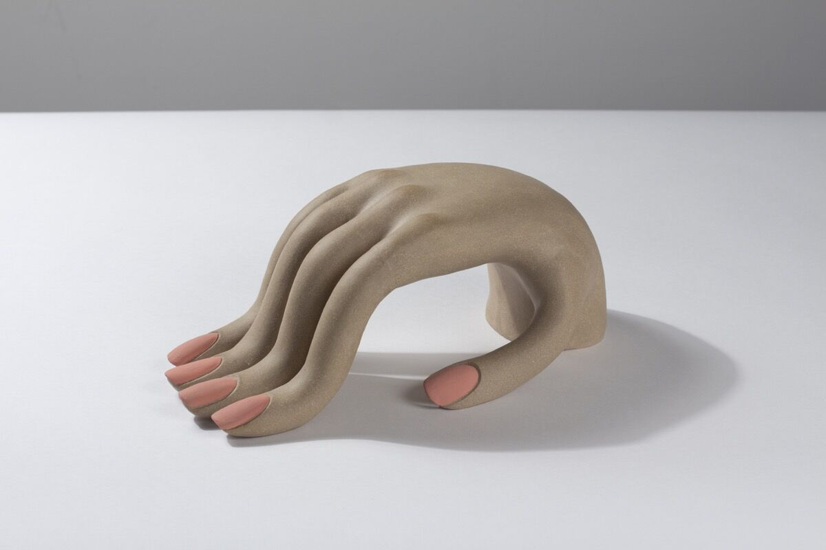 Genesis Belanger, Acquiescence (bent hand), 2018. Courtesy of the artist.