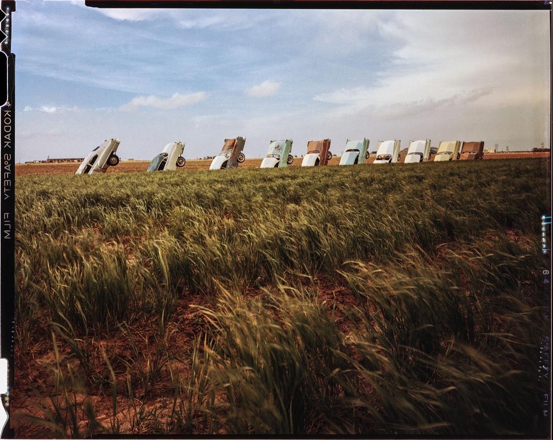 Photo of Cadillac Ranch © Wyatt McSpadden.