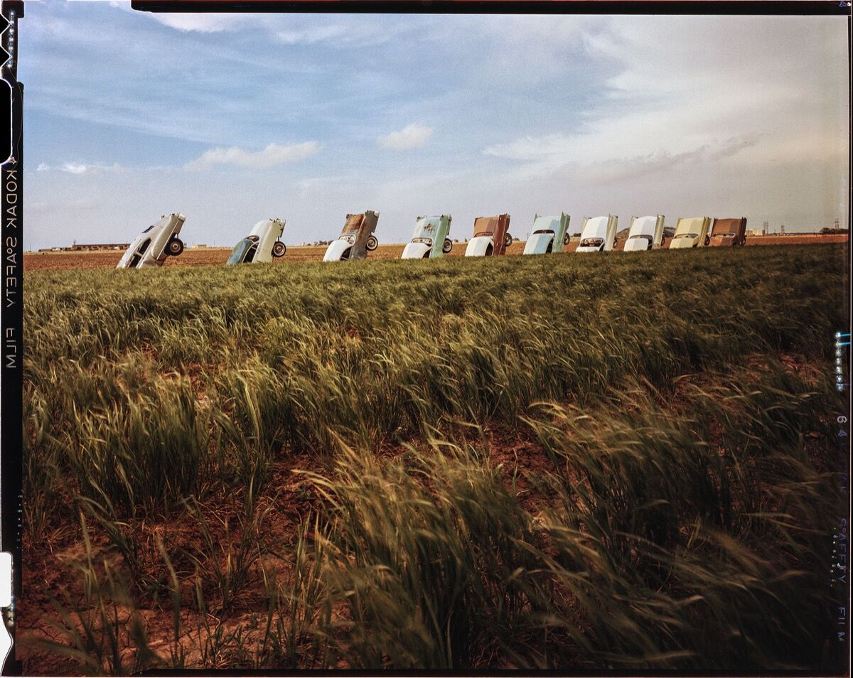 Photo of Cadillac Ranch © Wyatt McSpadden.