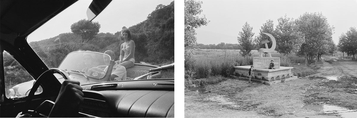 Left: Greece (1967); Right: Bulgaria (1967). Copyright Joel Meyerowitz. Courtesy of Howard Greenberg Gallery.