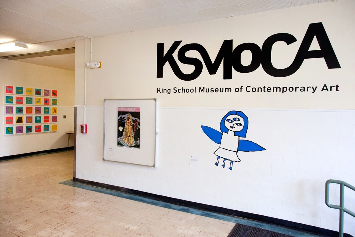 Entrance to KSMoCA. Photo by Anke Schuettler. Courtesy of KSMoCA.