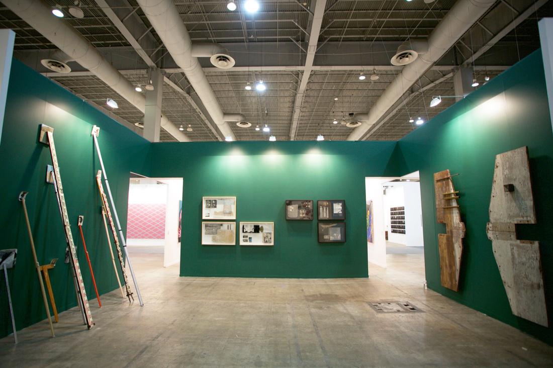 Installation view of LAMB Arts's booth atZⓢONAMACO, 2017. Photo courtesy ofLAMB Arts.