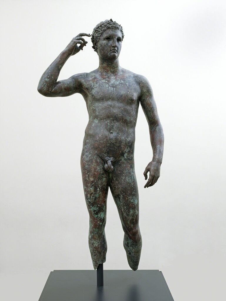 Statue of a Victorious Youth, 300-100 BCE. Courtesy of the J. Paul Getty Museum.