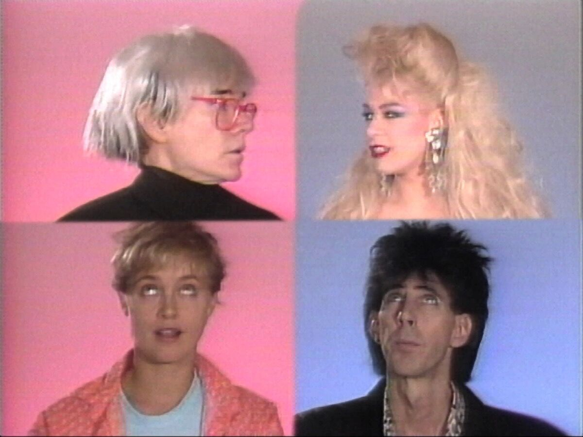 "Andy Warhol, Andy Warhol's Fifteen Minutes [pilot], 1985. 1"" videotape, color, sound, 30 minutes. ©2017 The Andy Warhol Museum, Pittsburgh, PA, a museum of Carnegie Institute. All rights reserved."
