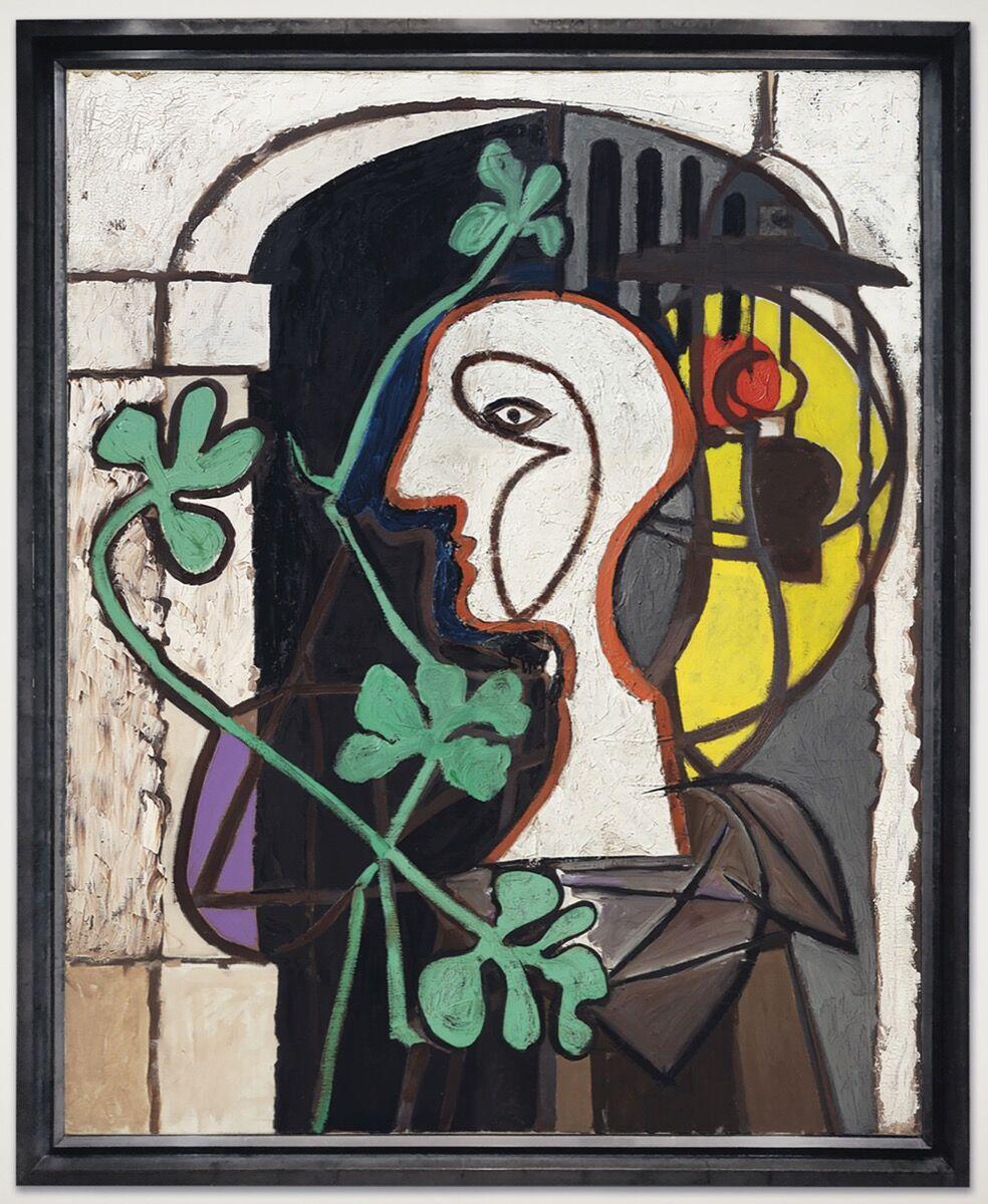 Pablo Picasso, La Lampe, 1931. Courtesy of Christie's.