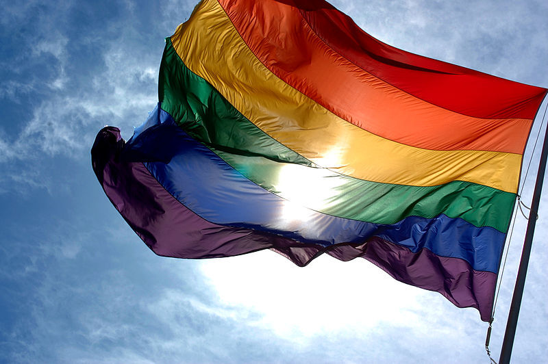 The Rainbow Flag. Source: Wikimedia Commons.