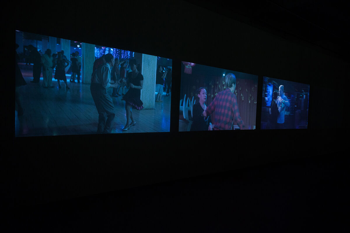 Installation view of Hao Jingban, I Can't Dance. Photo courtesy of Antenna Space.