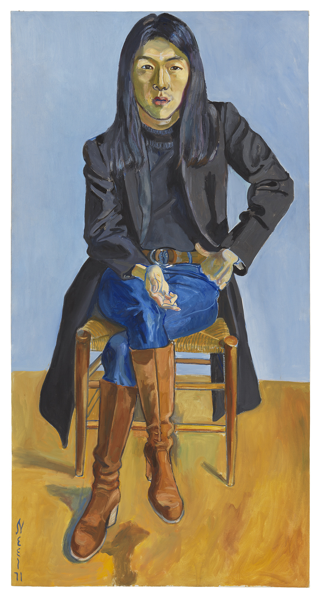 Alice Neel, Ron Kajiwara, 1971. © The Estate of Alice Neel. Courtesy David Zwirner, New York/London and Victoria Miro, London.