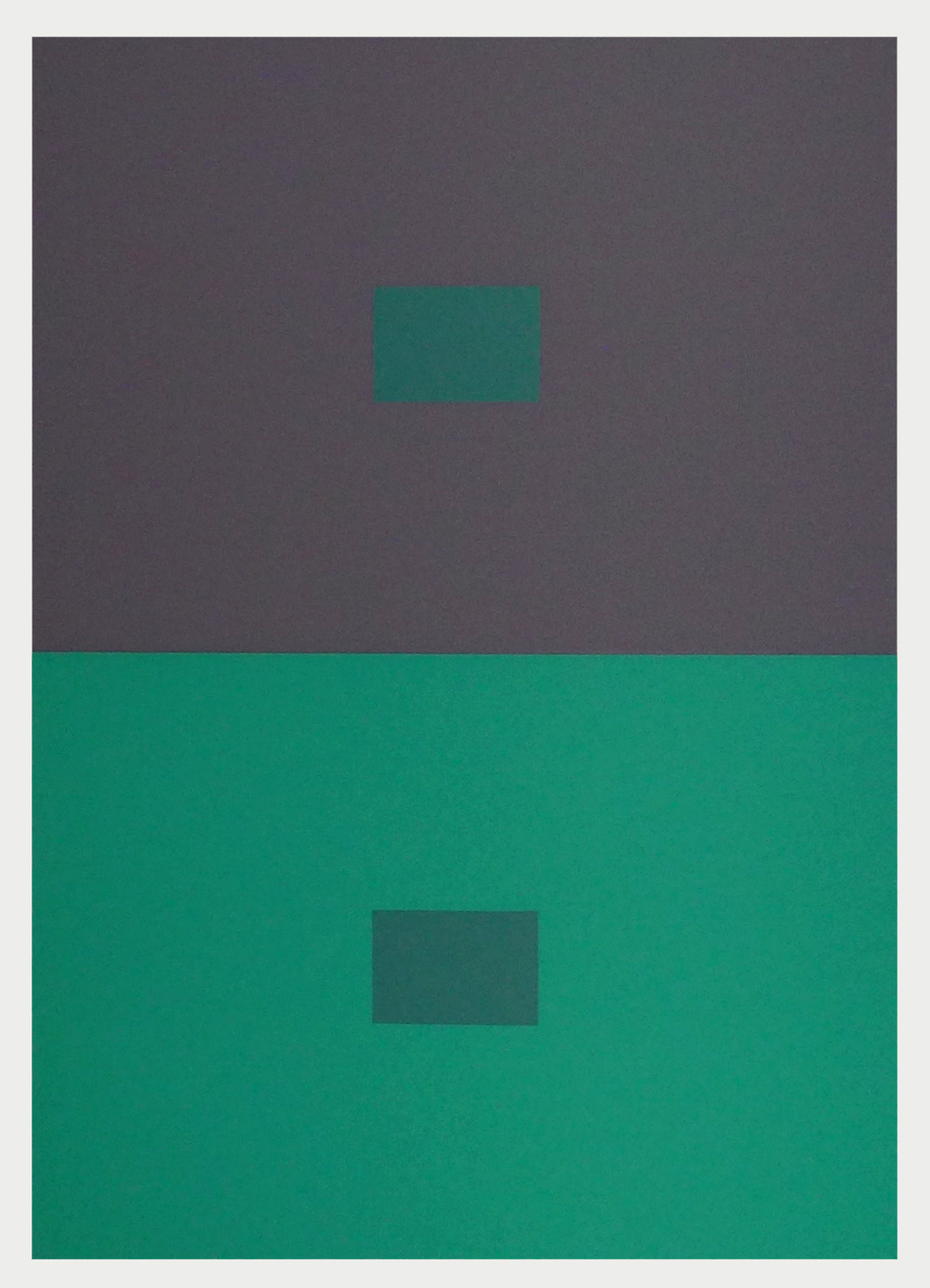 Josef Albers, Interaction of Color, 1963. Francis Frost.
