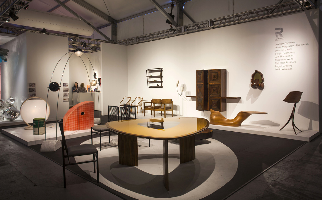 Installation view ofR & Company's booth at Design Miami/ 2015. Photo by Oriol Tarridas for Artsy.