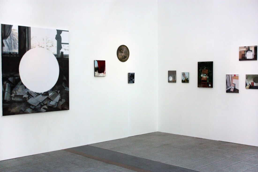 Installation view of pop/off/art's booth at Cosmoscow, 2015. Photo by Yulia Topchiy.