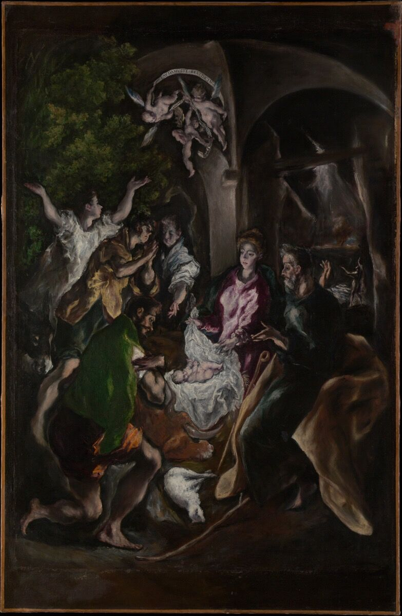El Greco, The Adoration of the Shepherds, ca. 1605-10.