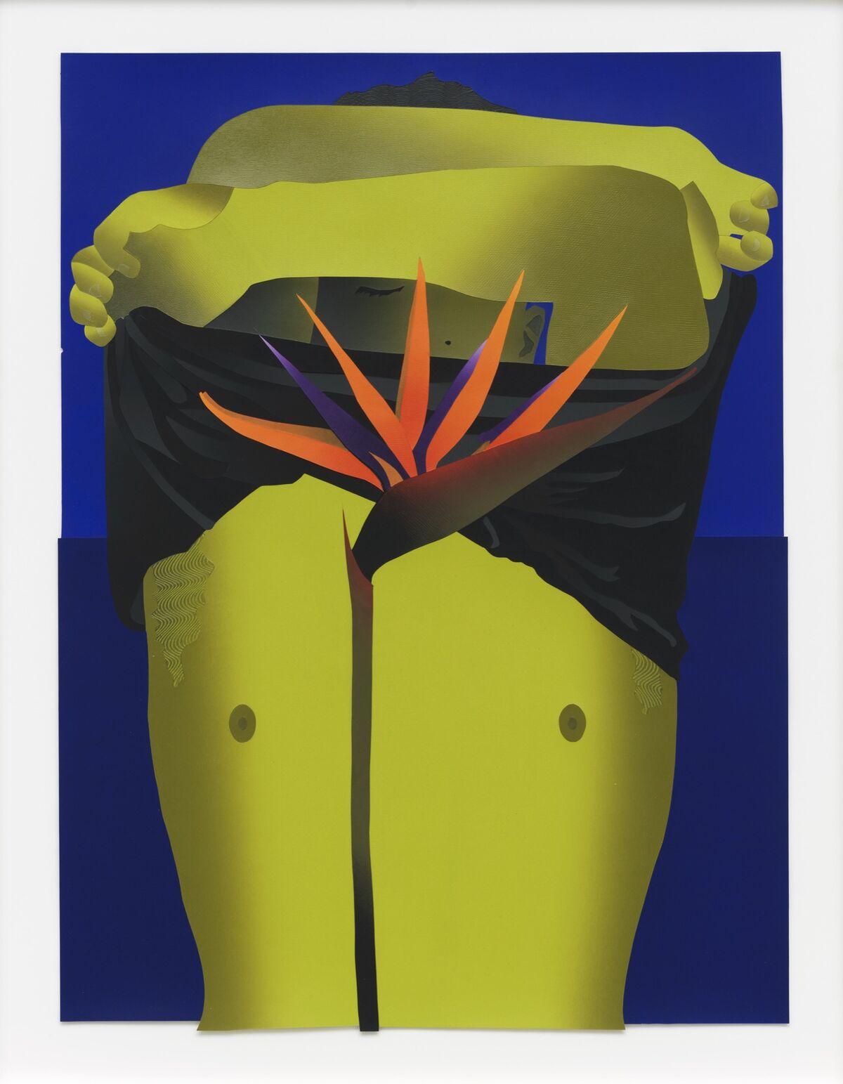 Anthony Lacono, Bird of Paradise, 2018. Courtesy of the artist and Marinaro Gallery.