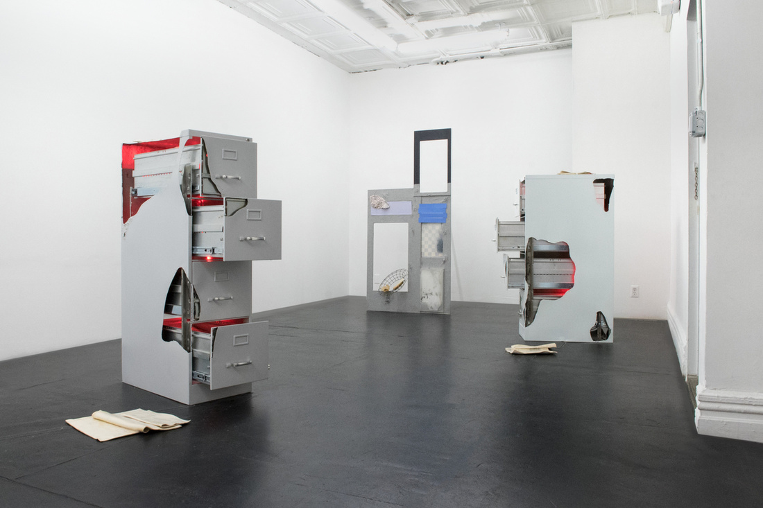 Installation view of Olivia Erlanger at Mathew. Photo courtesy of the artist and Mathew.