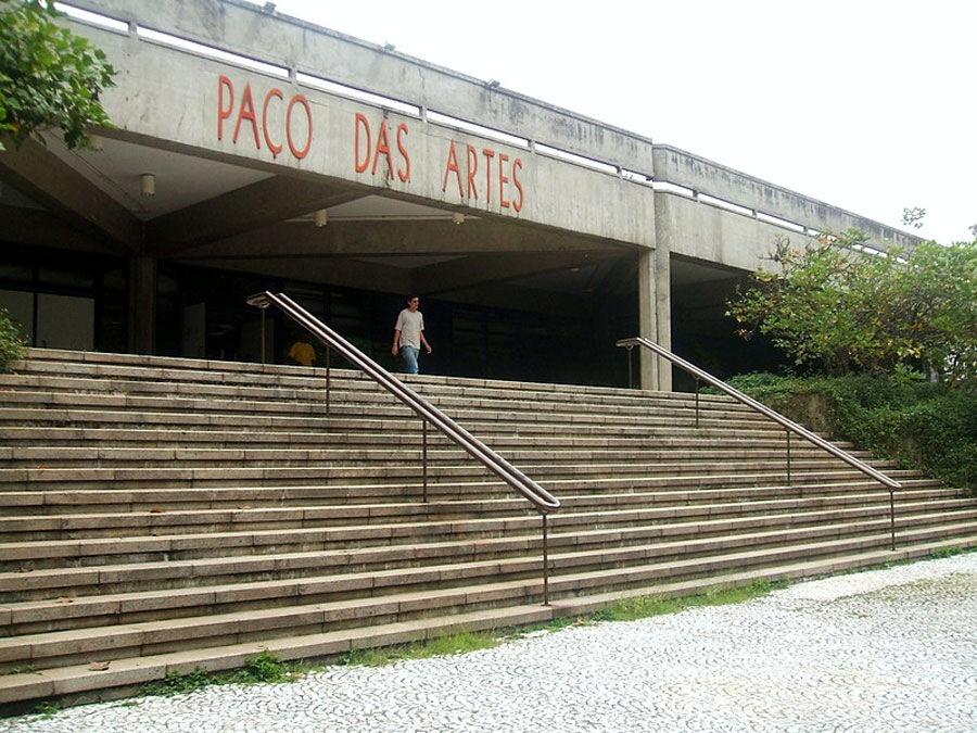 Paço das Artes, Cidade Universitária Armando Salles de Oliveira (USP). In São Paulo, Brasil. Photo by Dornicke.
