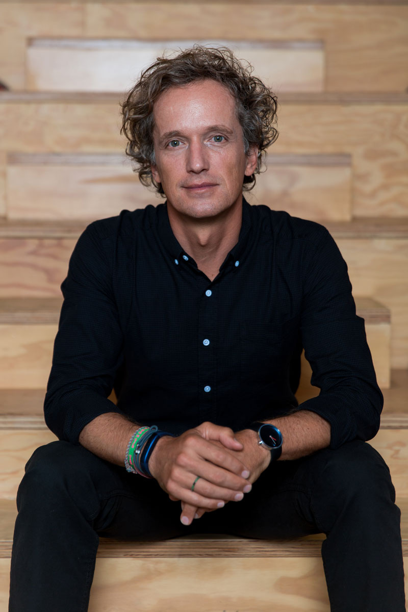 Portrait of Yves Béhar by Justin Buell. Photo courtesy of fuseproject.