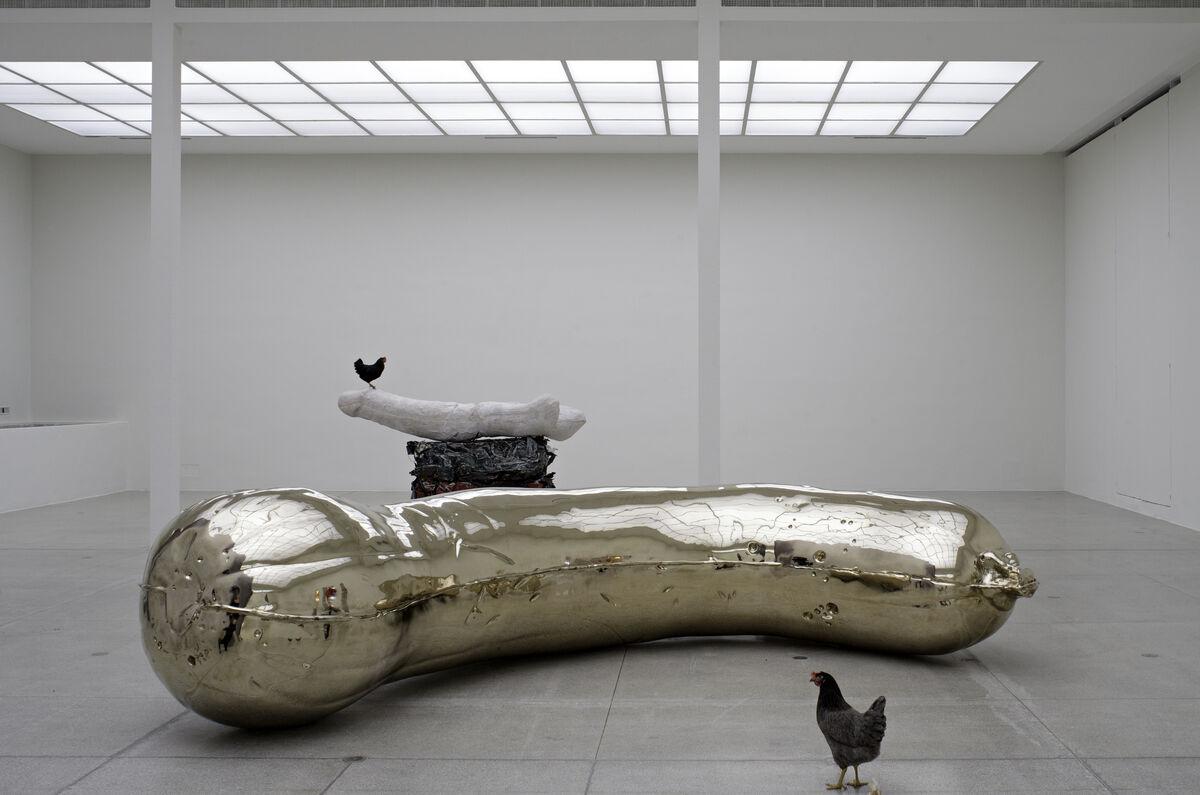 Sarah Lucas'British Council commission is at la Biennale di Venezia from 9 May until 22 November 2015.www.britishcouncil.org/visualarts