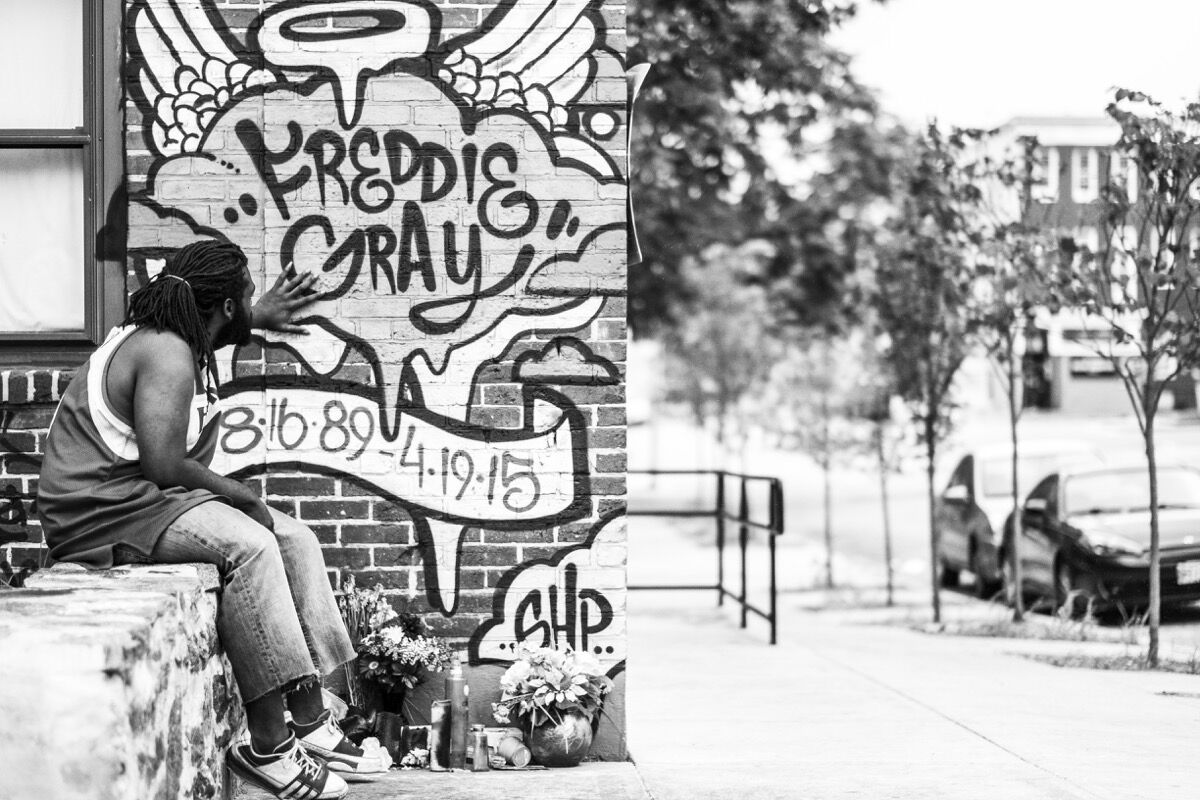 Photo by Devin Allen. Courtesy of the book A Beautiful Ghetto.