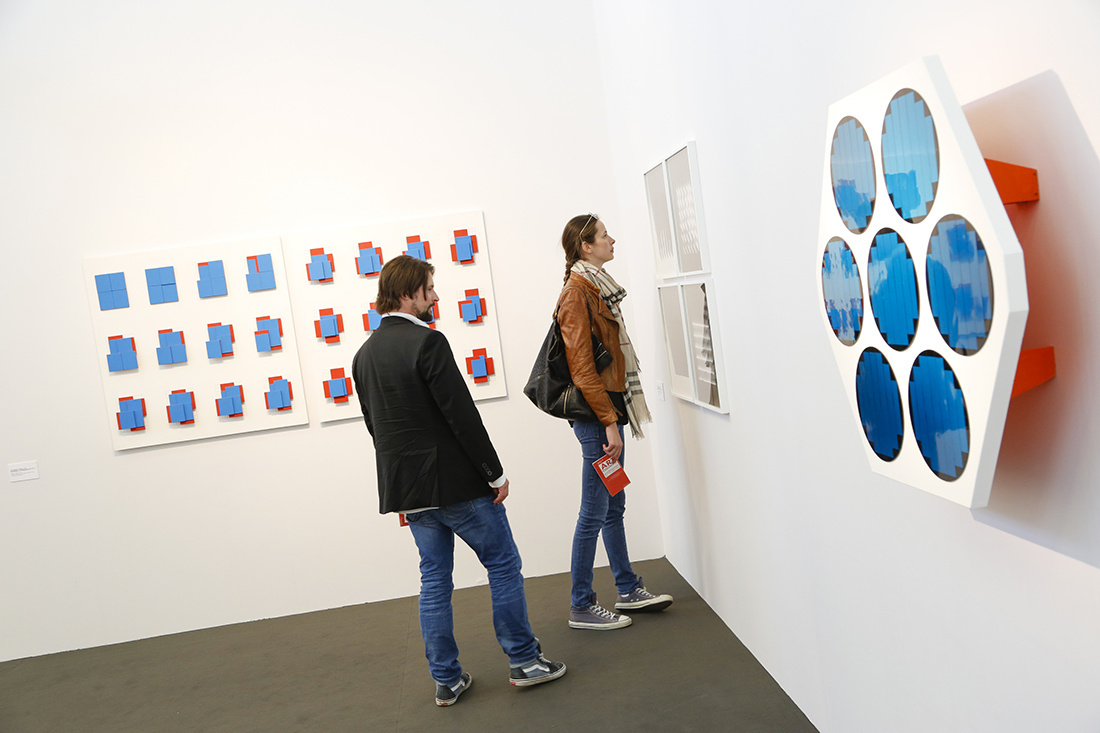 "Installation View, ""Bookmarks"" at Art Cologne 2015. Photo: © Koelnmesse."