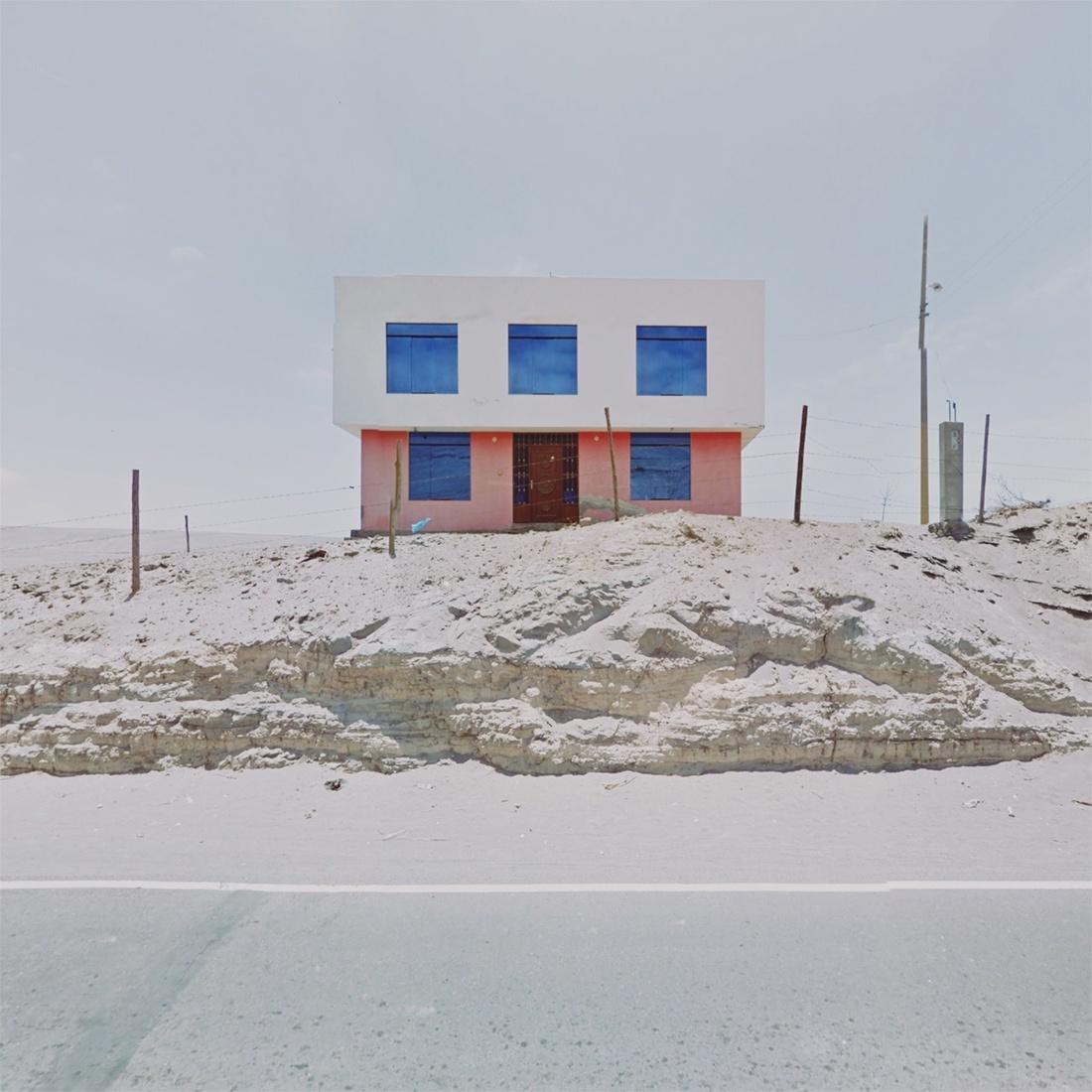 Arequipa, Peru. Photograph by Jacqui Kenny via Google Street View.