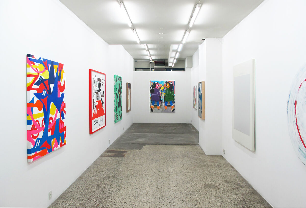 "Installation view of ""13"" at V1 Gallery, Copenhagen. Courtesy of V1 Gallery."