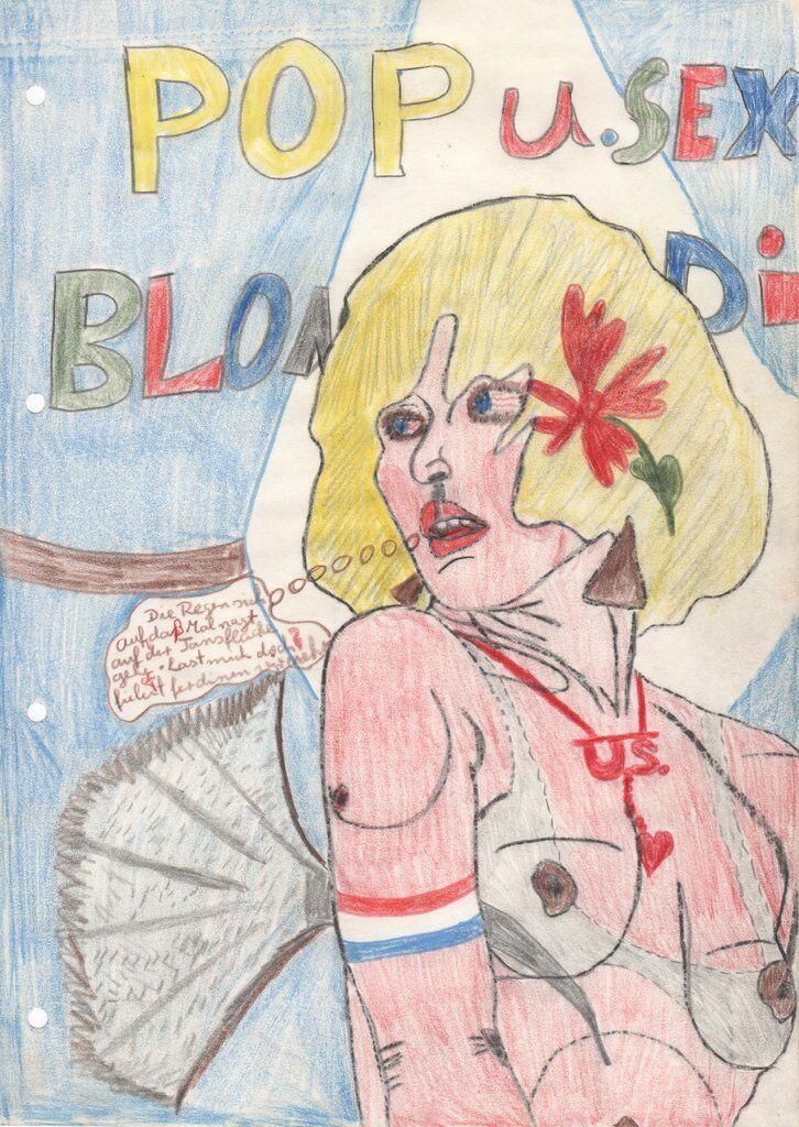 Disko Girls (Anonymous), untitled, 1970s-1980s (archive-# 32). Courtesy Delmes & Zander, Cologne.