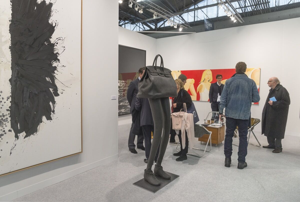 Installation view of Galerie Thaddaeus Ropac's booth at The Armory Show, 2018. Photo by Adam Reich for Artsy.