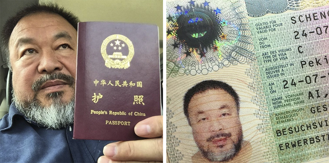 Photos via @aiww.