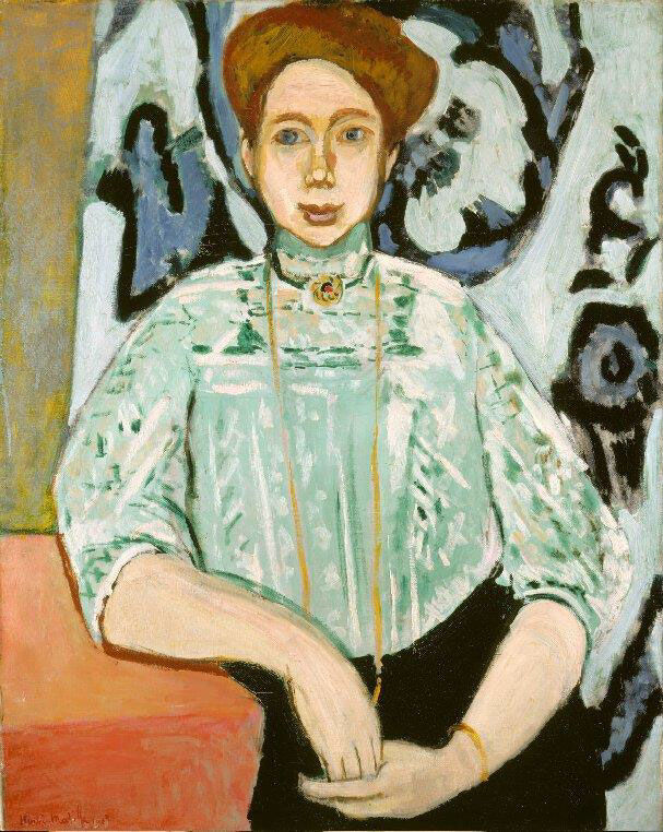 Henri Matisse, Portrait of Greta Moll, 1908.