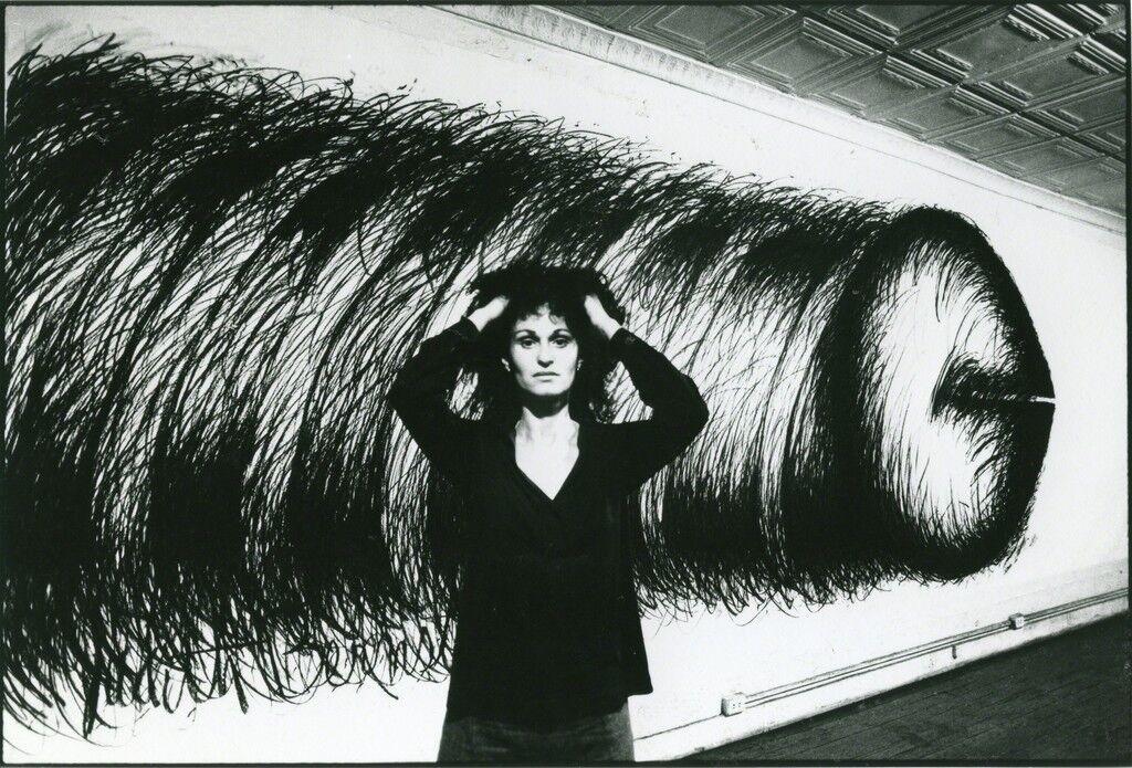 Judith Bernstein in 1973.