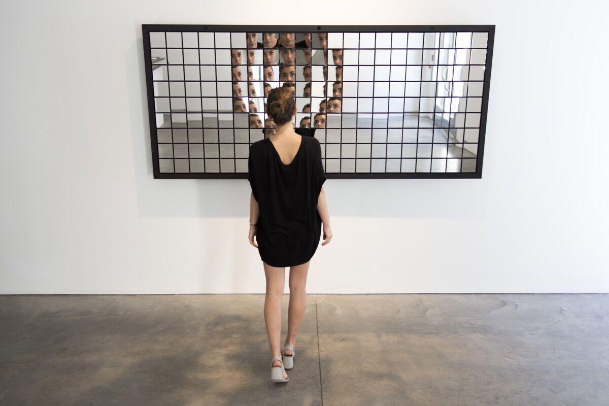 Random International, Fragments, 2016. © Random International 2016. Photograph courtesy of Pace Gallery.