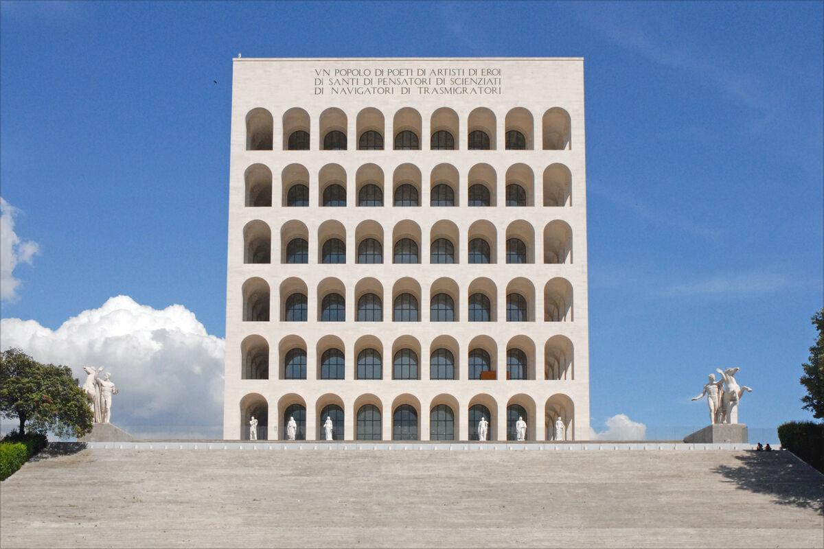 Palazzo della Civiltà Italiana, via Creative Commons.