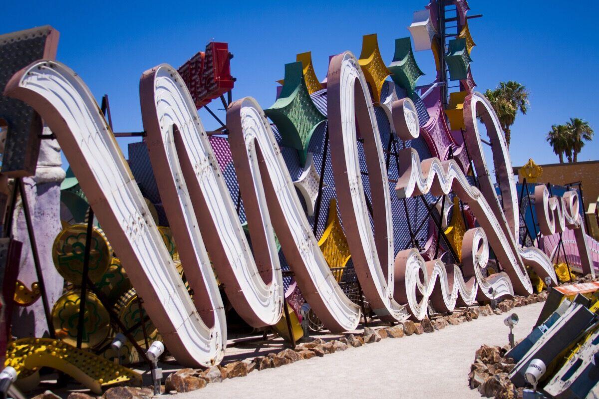 Photo courtesy of the Neon Museum, Las Vegas.
